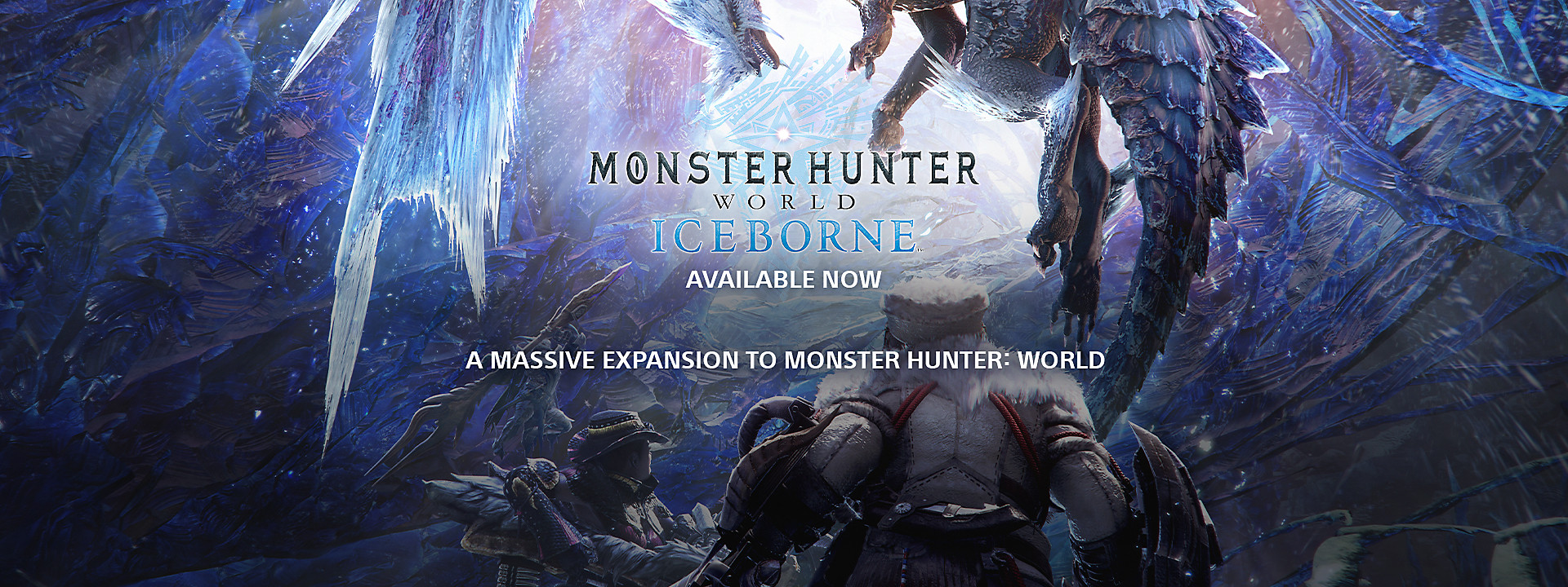 Monster Hunter World: Iceborne - Now Available