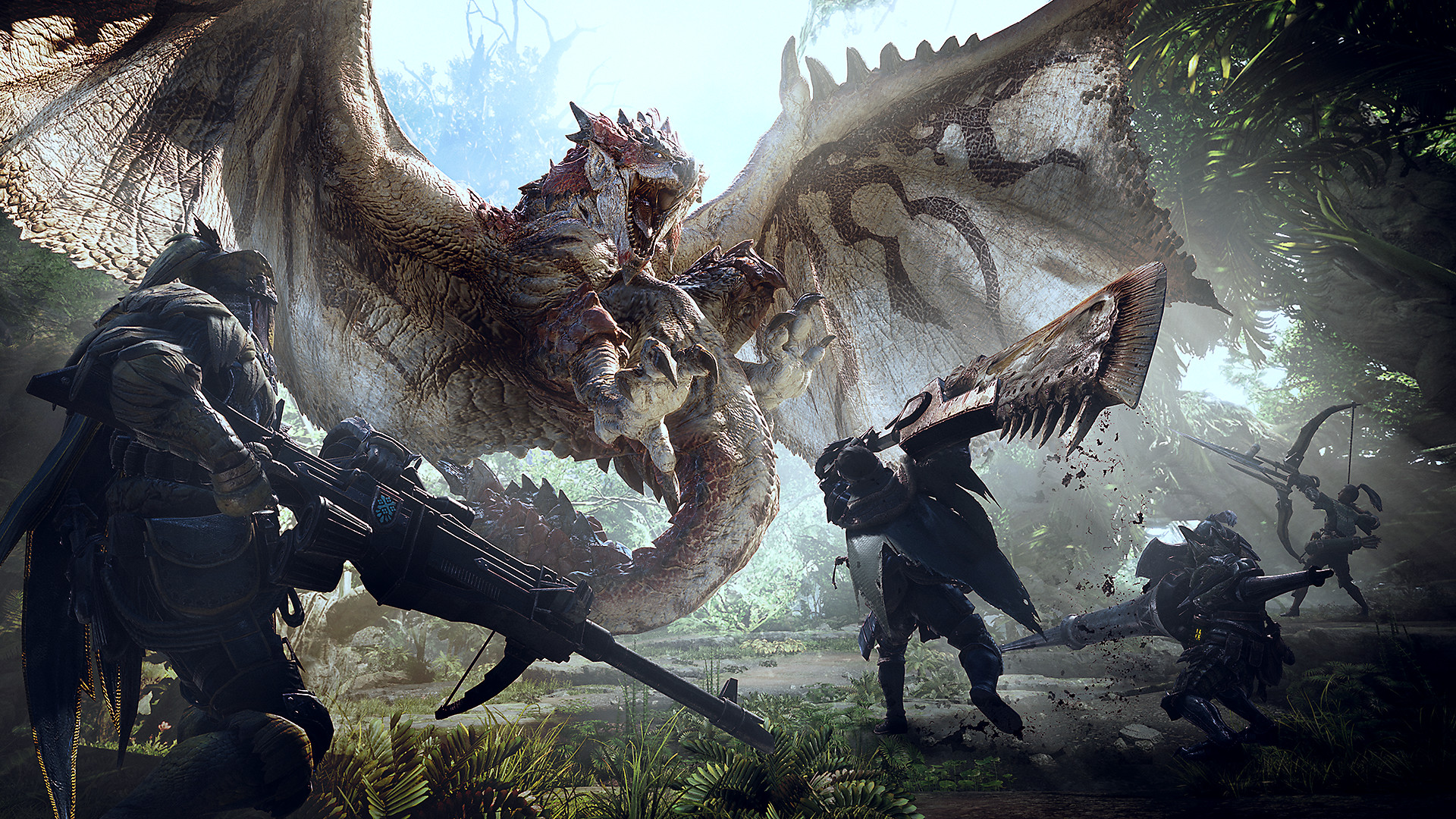 Monster Hunter World Game Ps4 Playstation