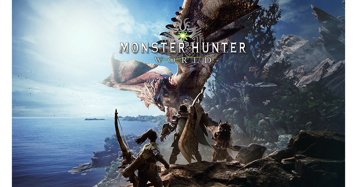 Monster Hunter World Game Playstation