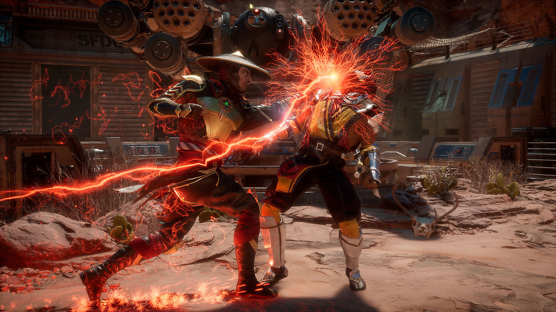 Mortal Kombat 11 Electric Punch