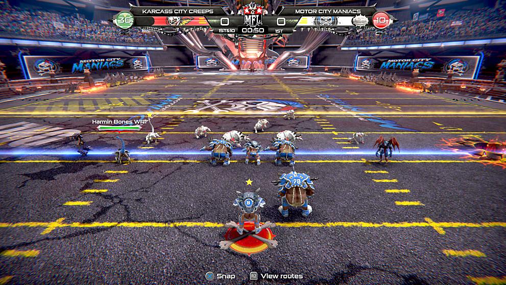 Mutant Football League Dynasty Edition Game Ps4 Playstation