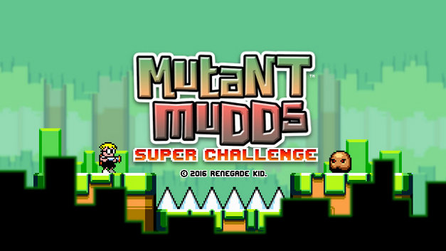 MUTANT MUDDS: SUPER CHALLENGE Screenshot 1