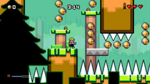 MUTANT MUDDS: SUPER CHALLENGE Screenshot 3