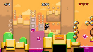 MUTANT MUDDS: SUPER CHALLENGE Screenshot 8