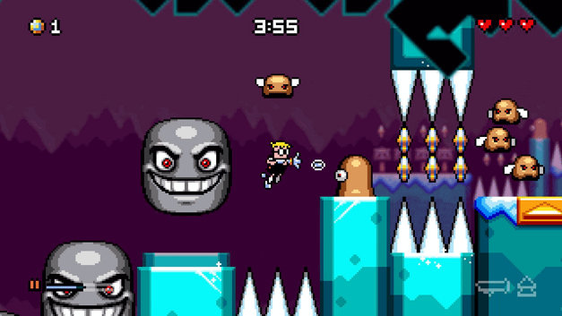 MUTANT MUDDS: SUPER CHALLENGE Screenshot 4