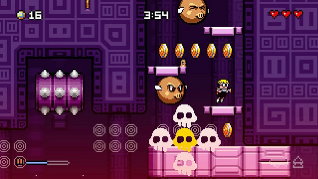 MUTANT MUDDS: SUPER CHALLENGE Screenshot 10