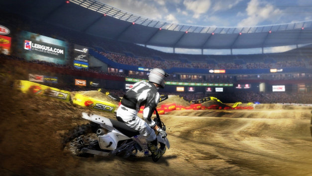 MX vs. ATV Supercross Screenshot 1