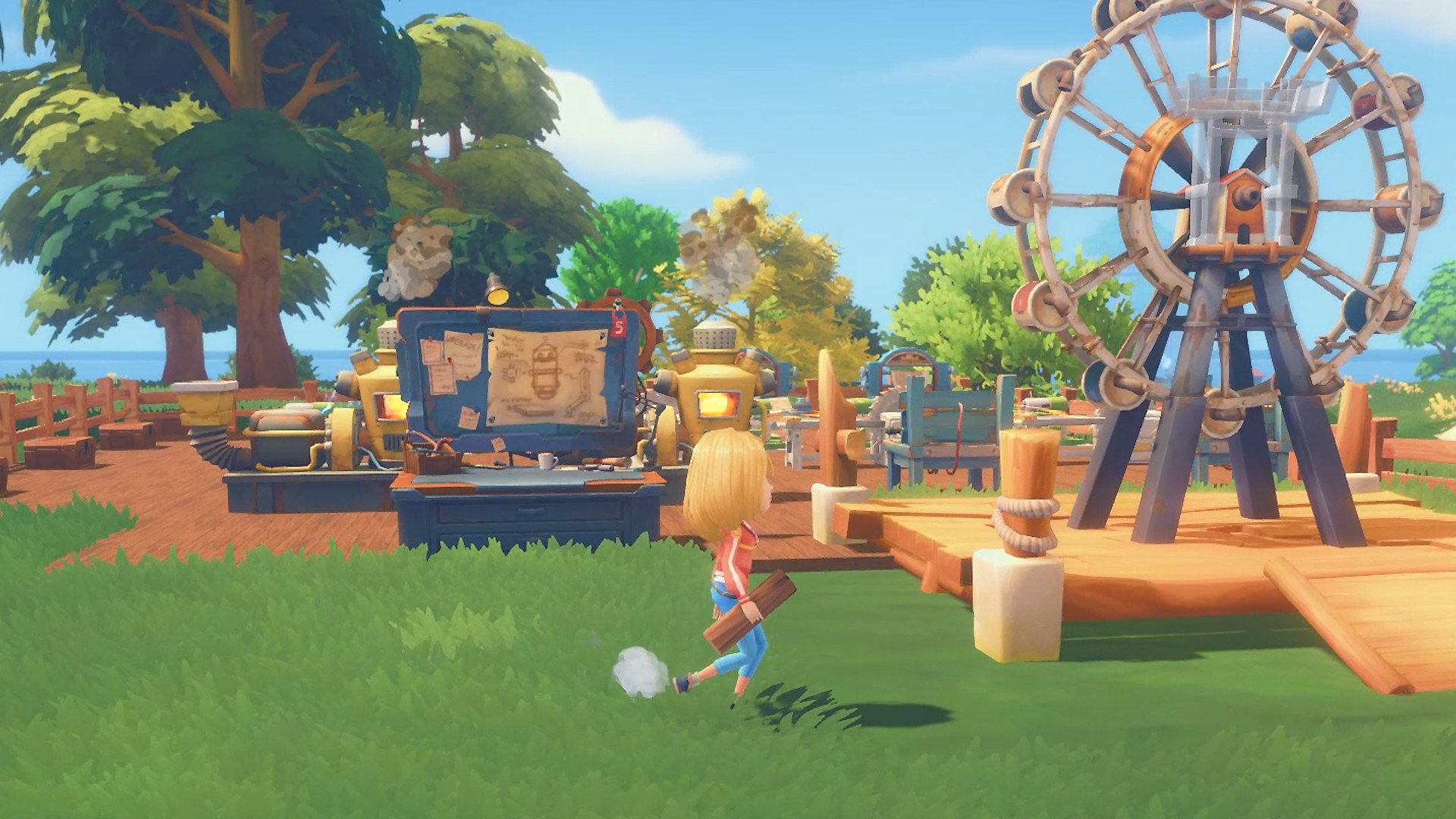 Make And Take Room In A Box Elizabeth Farm: My Time At Portia Game