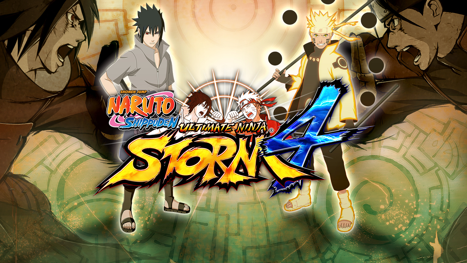 NARUTO SHIPPUDEN ULTIMATE NINJA STORM 4 Game | PS4 - PlayStation