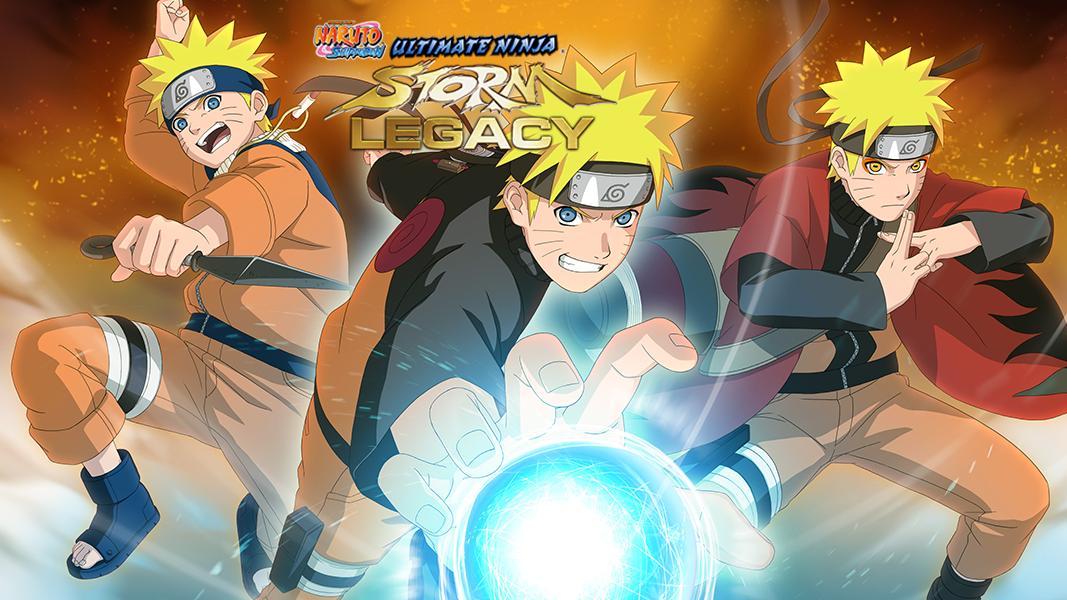 Naruto Shippuden Ultimate Ninja Storm Legacy Game Ps4