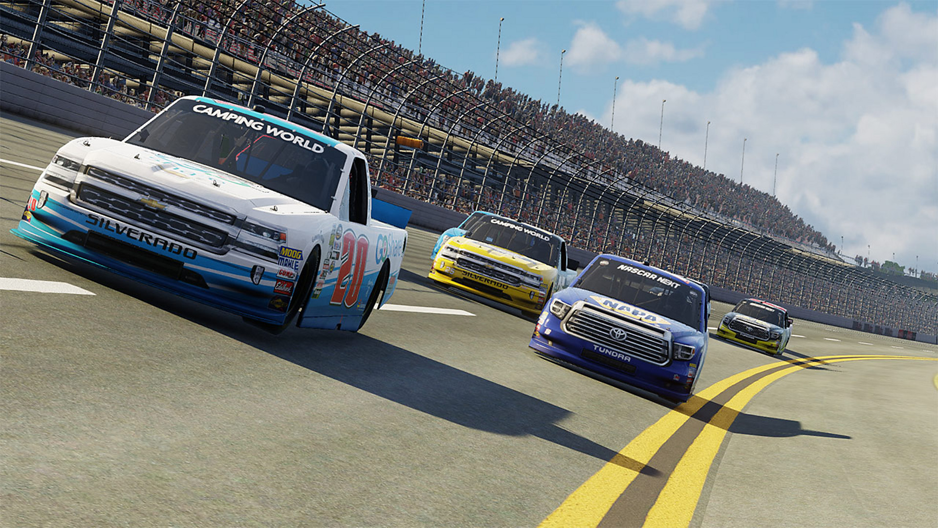 Deeper Career Mode Start Your Own Team Or Sign With Some Of The Biggest Racing Teams In Nascar