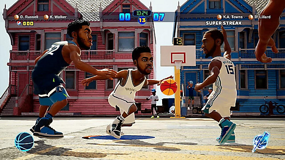 NBA 2K Playgrounds 2 - Screenshot INDEX