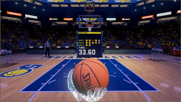 NBA 2KVR Experience Screenshot 1