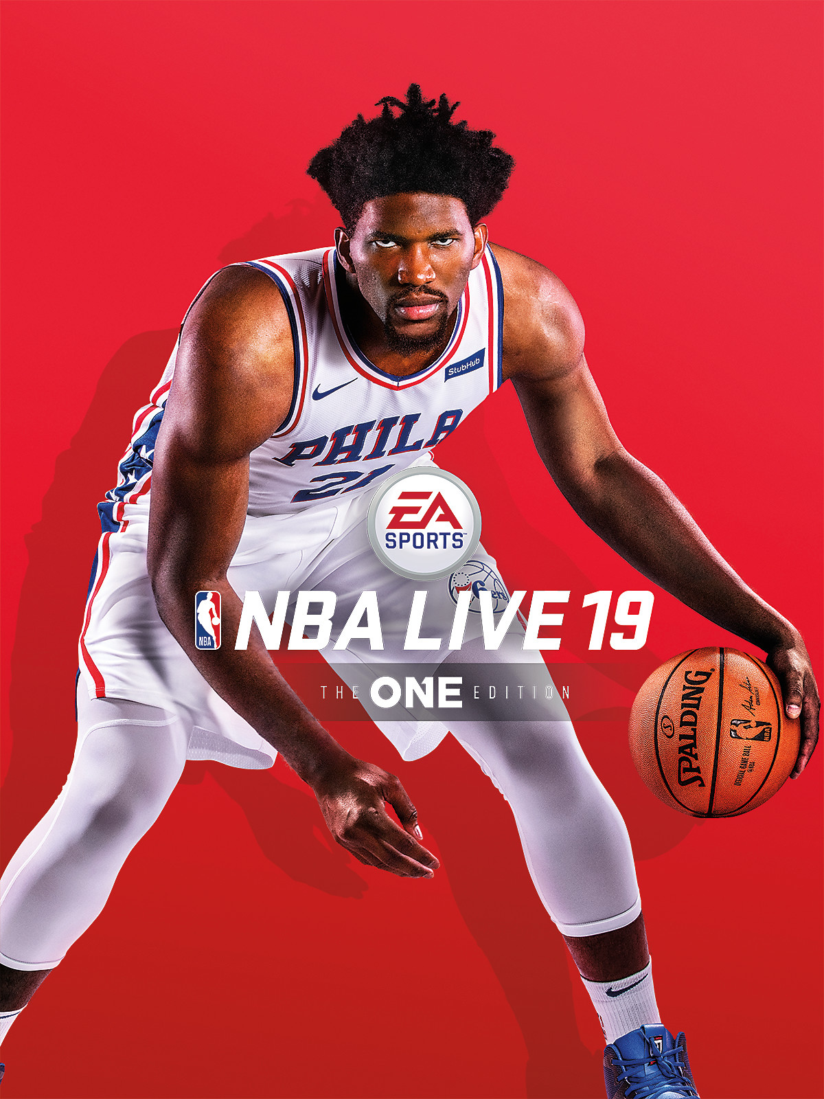 NBA Live 19 Box Art