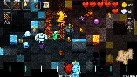 Crypt of the NecroDancer Trailer Screenshot