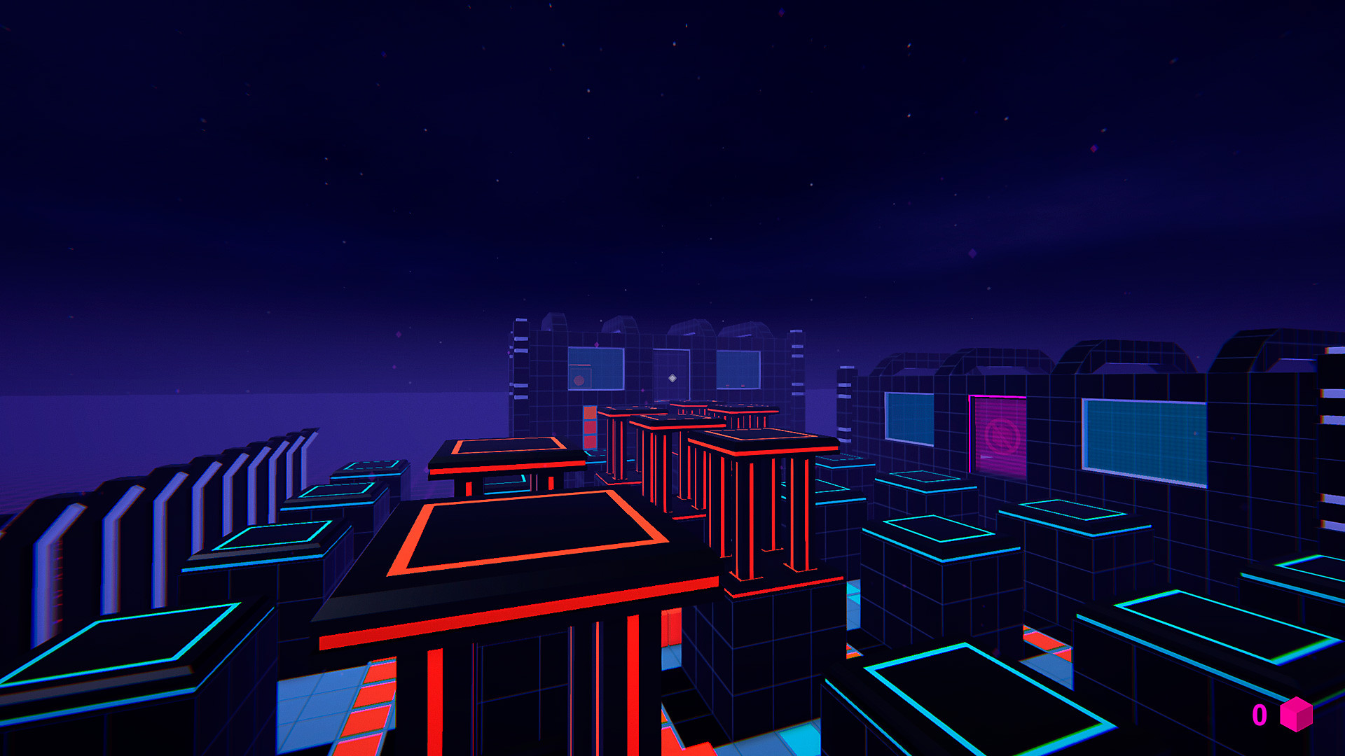 Gameplay de Neon Junctions