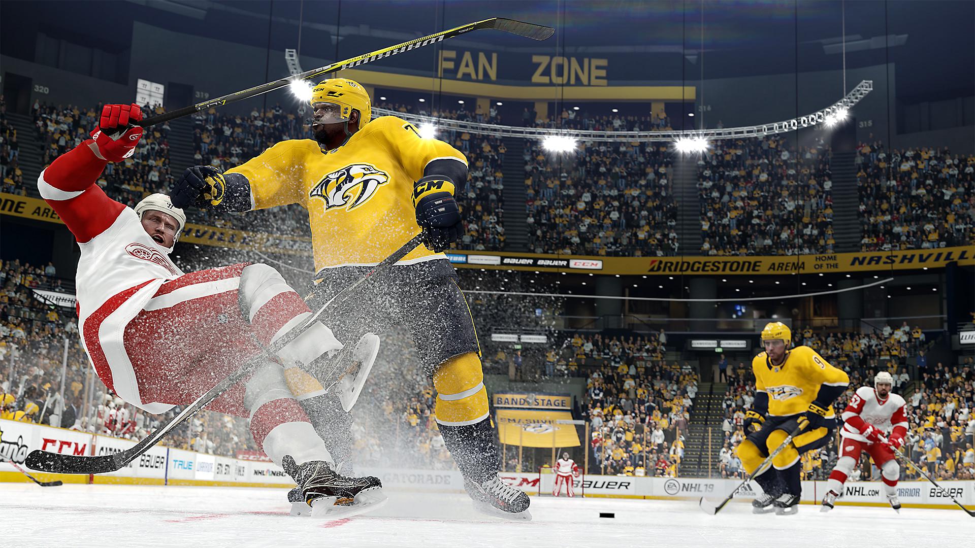 Ea Sports Nhl 19 Game Ps4 Playstation