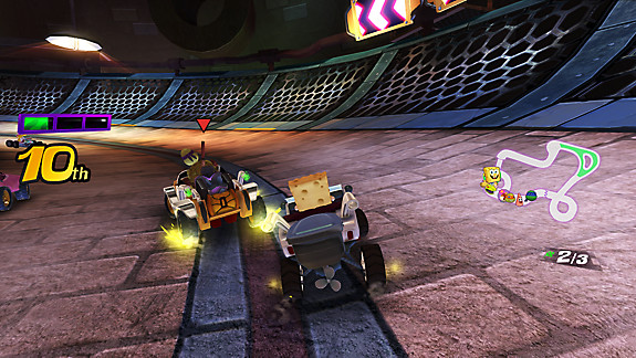 Nickelodeon Kart Racers - Screenshot INDEX