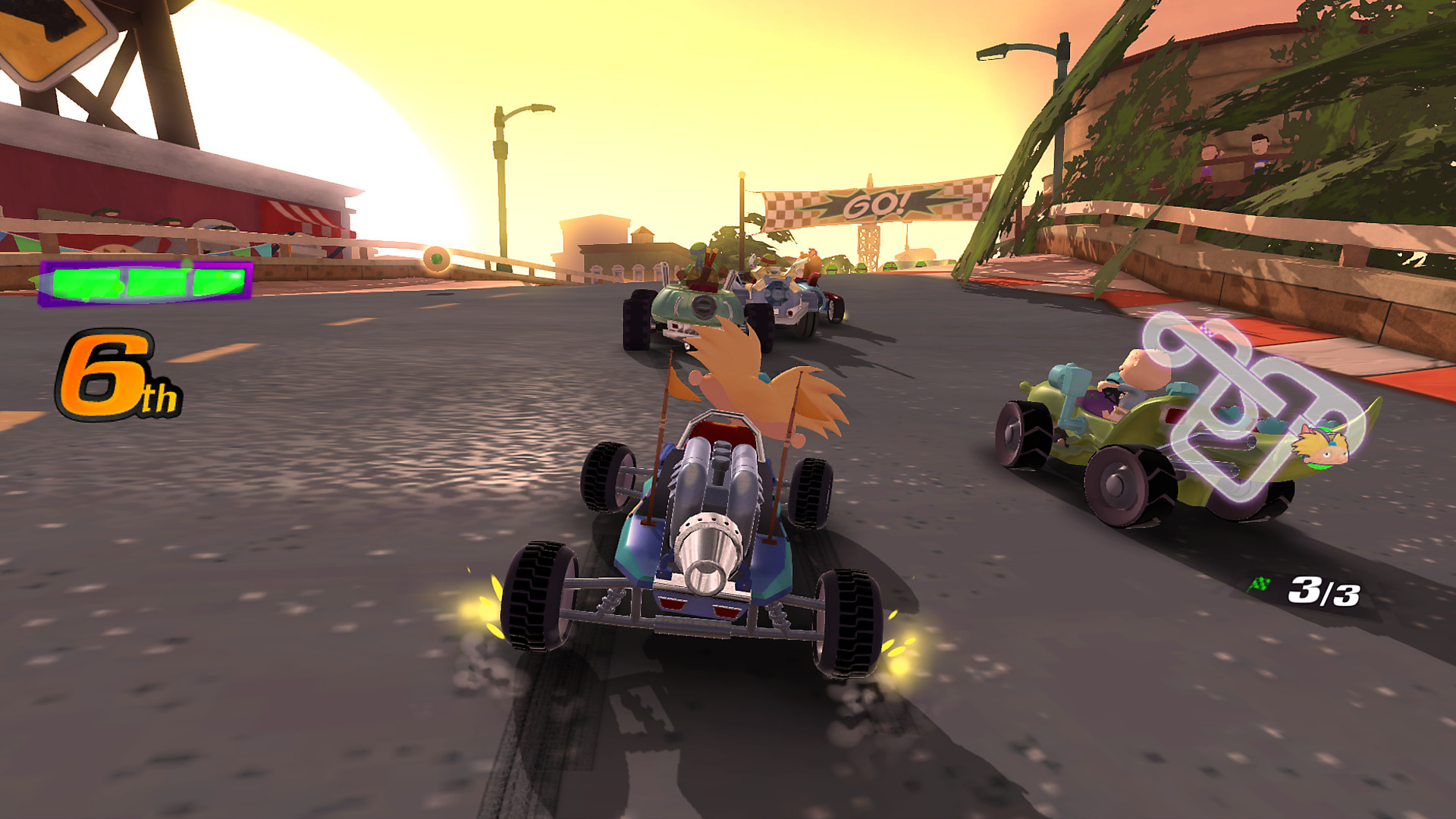 Nickelodeon Kart Racers Game Ps4 Playstation