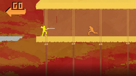 Nidhogg Trailer Screenshot