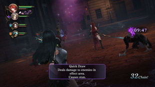 Nights of Azure 2: Bride of the New Moon Screenshot 2