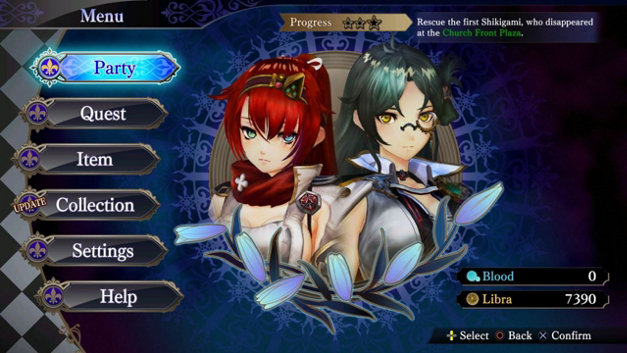 Nights of Azure 2: Bride of the New Moon Screenshot 7