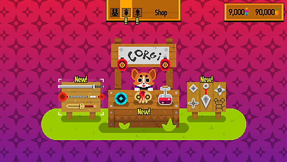 Ninjin: Clash of Carrots - Screenshot INDEX