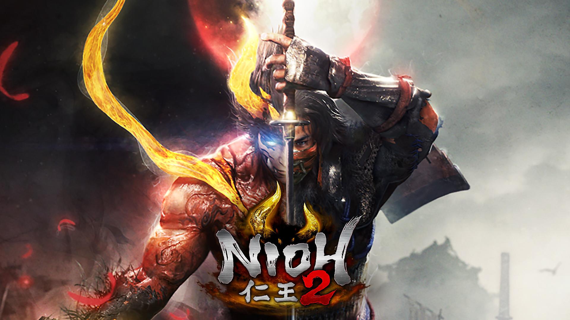 Nioh 2 Decorative Background