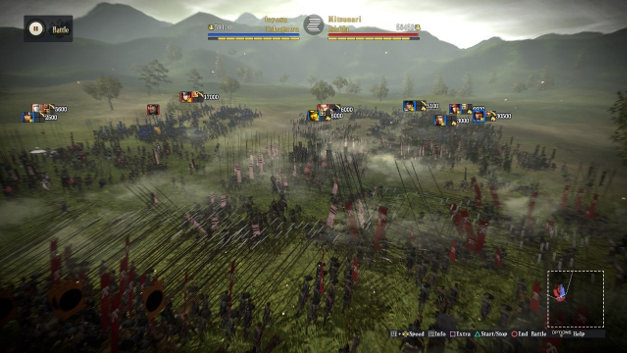 NOBUNAGA'S AMBITION: Sphere of Influence Screenshot 1