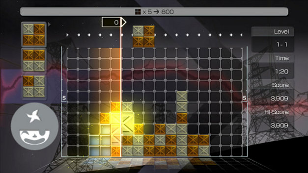 LUMINES™ Supernova Screenshot 1