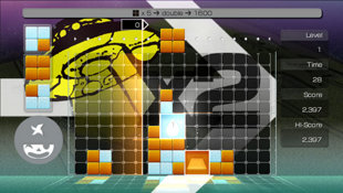 LUMINES™ Supernova Screenshot 2