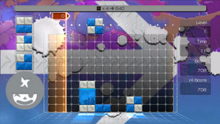 LUMINES™ Supernova Screenshot 3