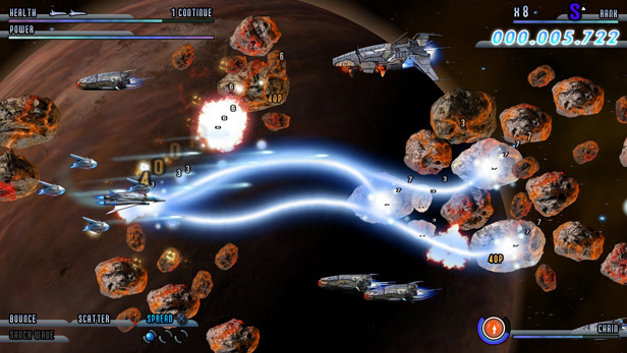 Soldner-X 2: Final Prototype Screenshot 1