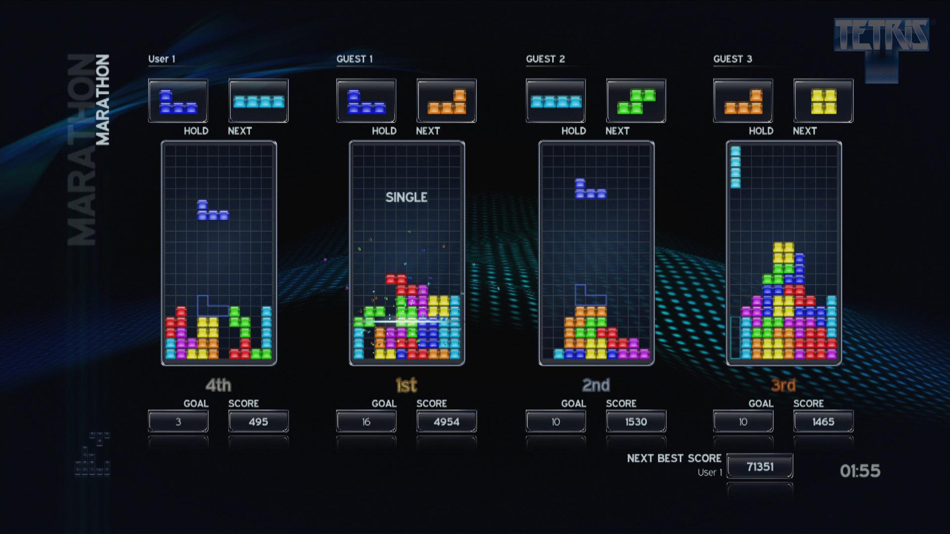 tetris game psp