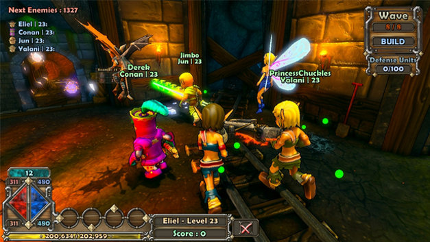 Dungeon Defenders Screenshot 1