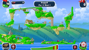 Worms™ Crazy Golf Screenshot 2