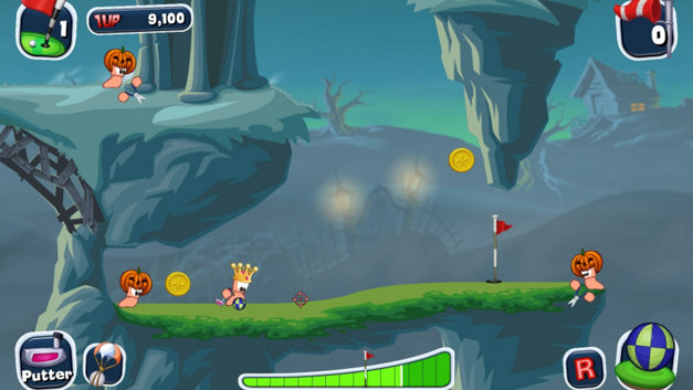 Worms™ Crazy Golf Screenshot 4