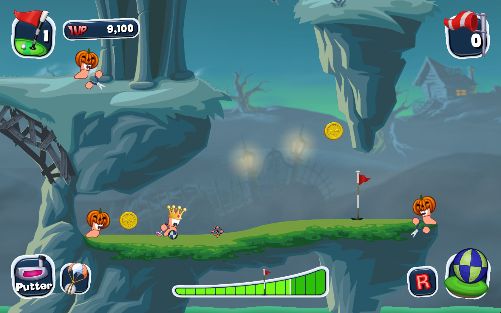 Worms™ Crazy Golf Game | PS3 - PlayStation