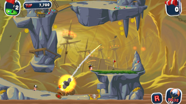 Worms™ Crazy Golf Screenshot 7