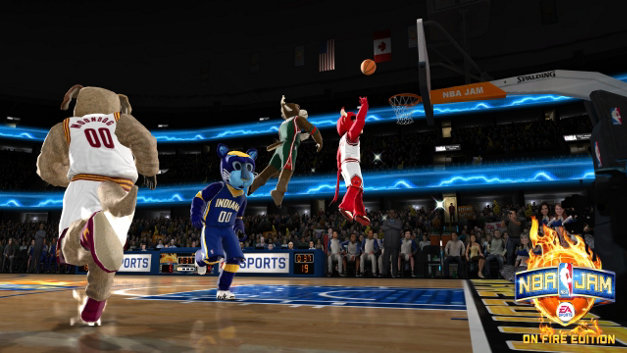 NBA JAM: On Fire Edition Screenshot 4