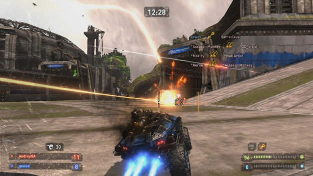 Wheels of Destruction Screenshot 1
