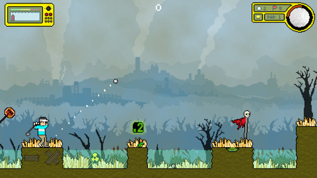 Nuclear Golf Screenshot 1