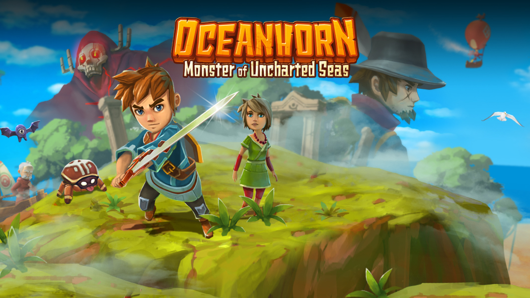 Oceanhorn, FDG, Switch, eShop, Nintendo