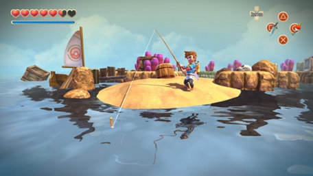 Oceanhorn - Monster of Uncharted Seas Trailer Screenshot
