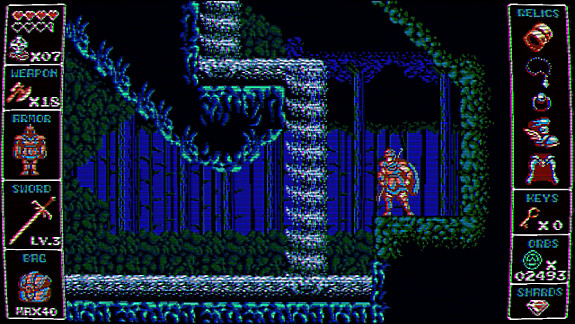 Odallus: The Dark Call - Screenshot INDEX