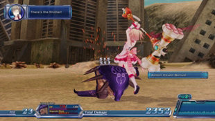 Omega Quintet Screenshot 5
