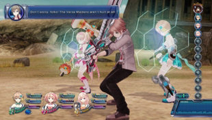 Omega Quintet Screenshot 6