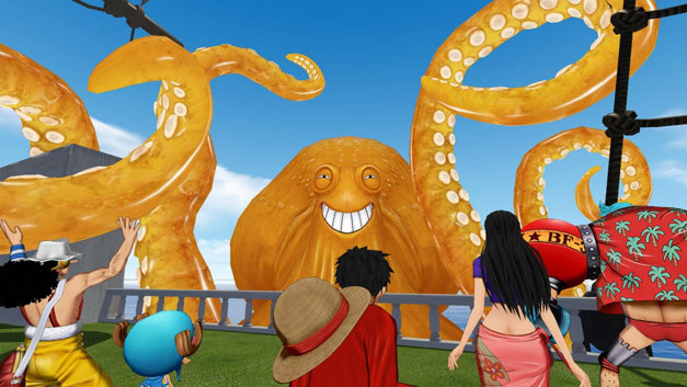 ONE PIECE Grand Cruise Screenshot 1