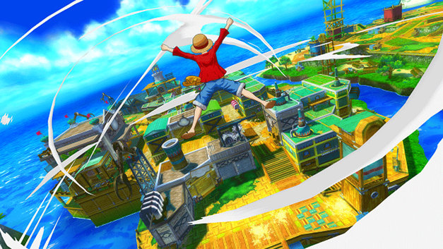 ONE PIECE Unlimited World Red Screenshot 1