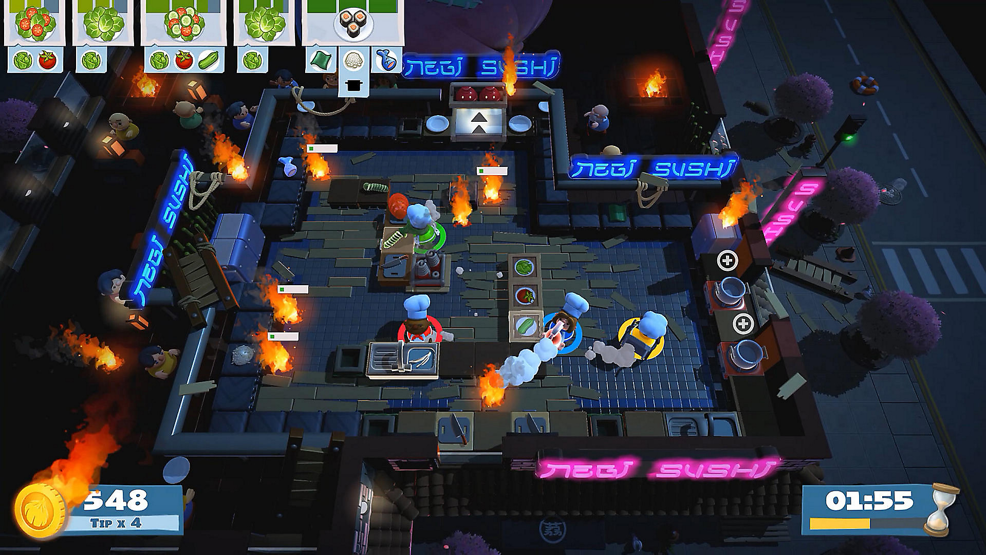 Overcooked 2 Game Screenshot 1